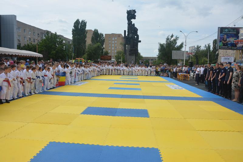 Открытый Кубок ППО Ро АЭС по рукопашному бою, посвященный Дню защиты детей