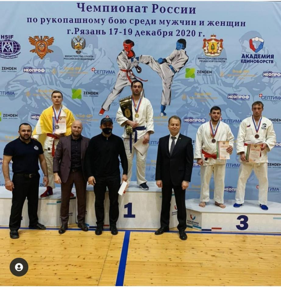 две медали с чемпионата России едут в  Ростовскую область!